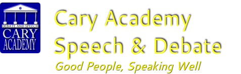 Cary Academy Speech & Debate